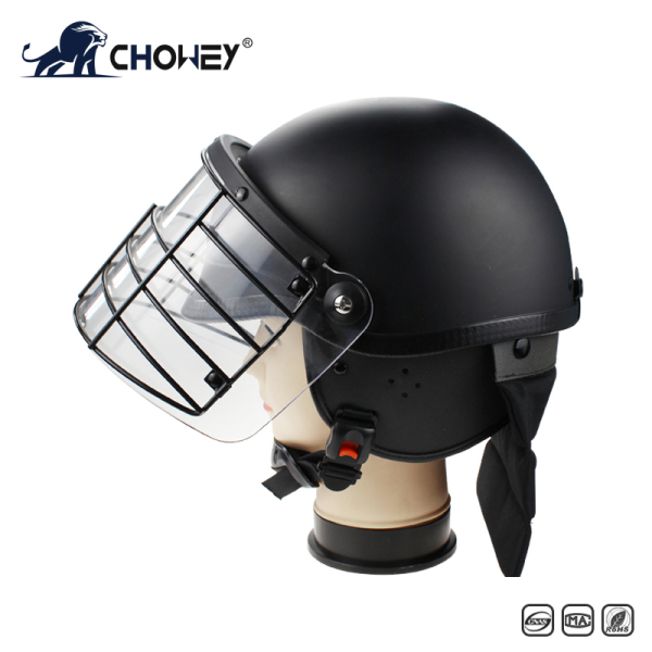Military Anti Riot Control Helmet AH1062 with metal grid
